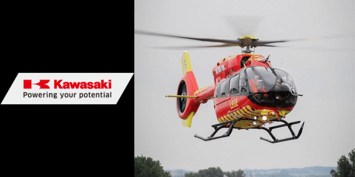 最新型ヘリコプター「H145//BK117 D-3」世界初納入 – 川崎重工業株式会社