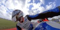 British Superbike Championshipのバイクに「Insta360 ONE R」を取付撮影