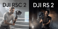 【DJIの新商品】カメラスタビライザー「RS 2」「RSC 2」発表!販売開始!