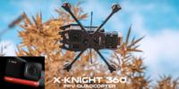 「Insta360 ONE R」搭載可能なCine-Whoopドローン「X-Knight」販売開始