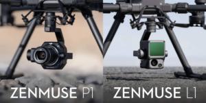 【DJIの新商品】ジンバルカメラ「Zenmuse L1」「Zenmuse P1」発表