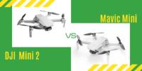 【徹底比較】「Mavic Mini」VS「DJI Mini 2」初心者にオススメなのは?