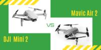 【徹底比較】「DJI Mini 2」VS「Mavic Air 2」初心者にオススメなのは?