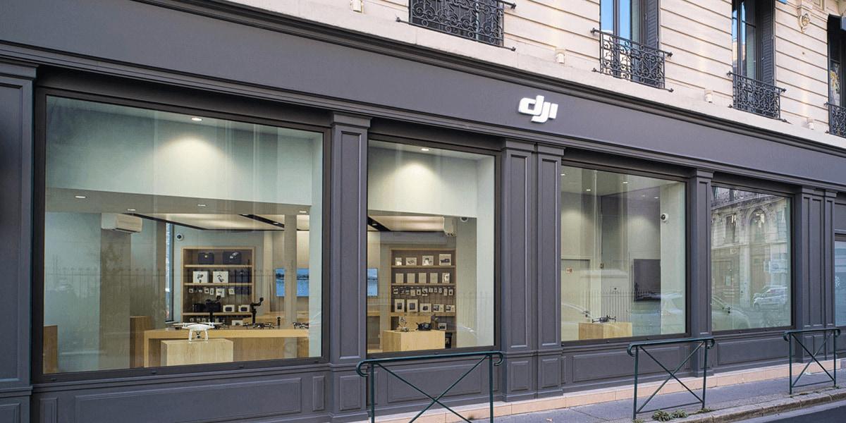 ドローンメーカーDJI、フランスのリヨンに新店舗をオープン