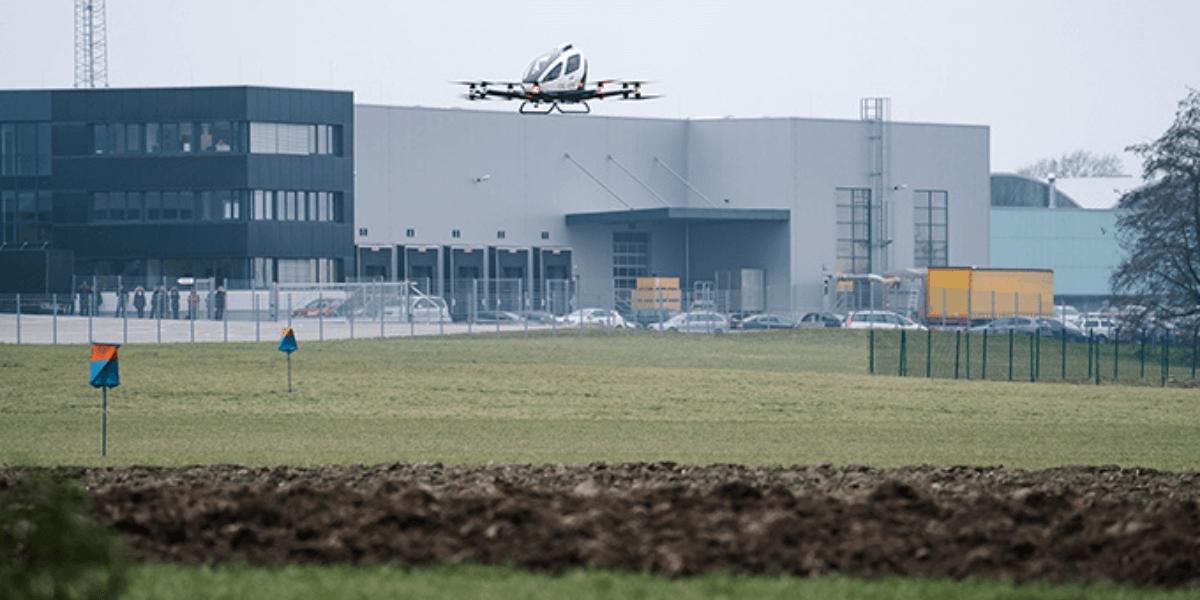 パッセンジャードローンのEHang、オーストリアでの長期飛行許可を取得