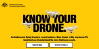 ドローン配達アプリに、知識を試すクイズボタンを追加 – オーストラリア