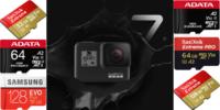 失敗しない!GoPro「Hero7 Black」のmicroSDカードの選び方とおすすめ解説