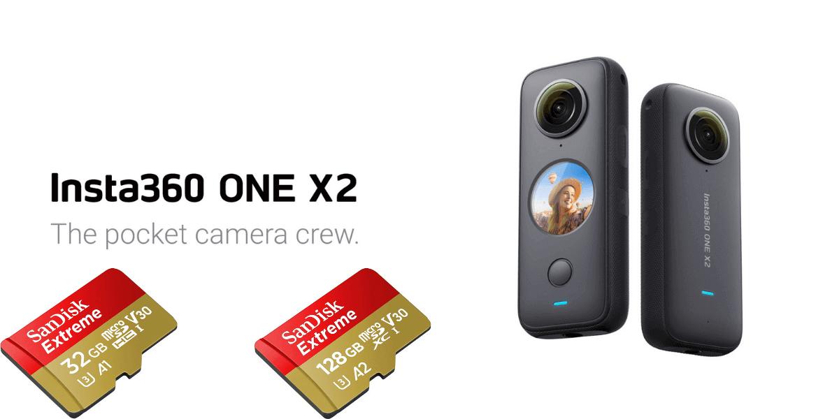 失敗しない!Insta360「ONE X2」のmicroSDカードの選び方とおすすめ解説