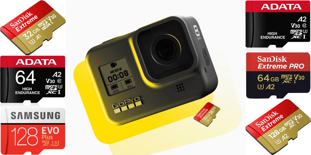 失敗しない!GoPro「Hero8 Black」のmicroSDカードの選び方とおすすめ解説