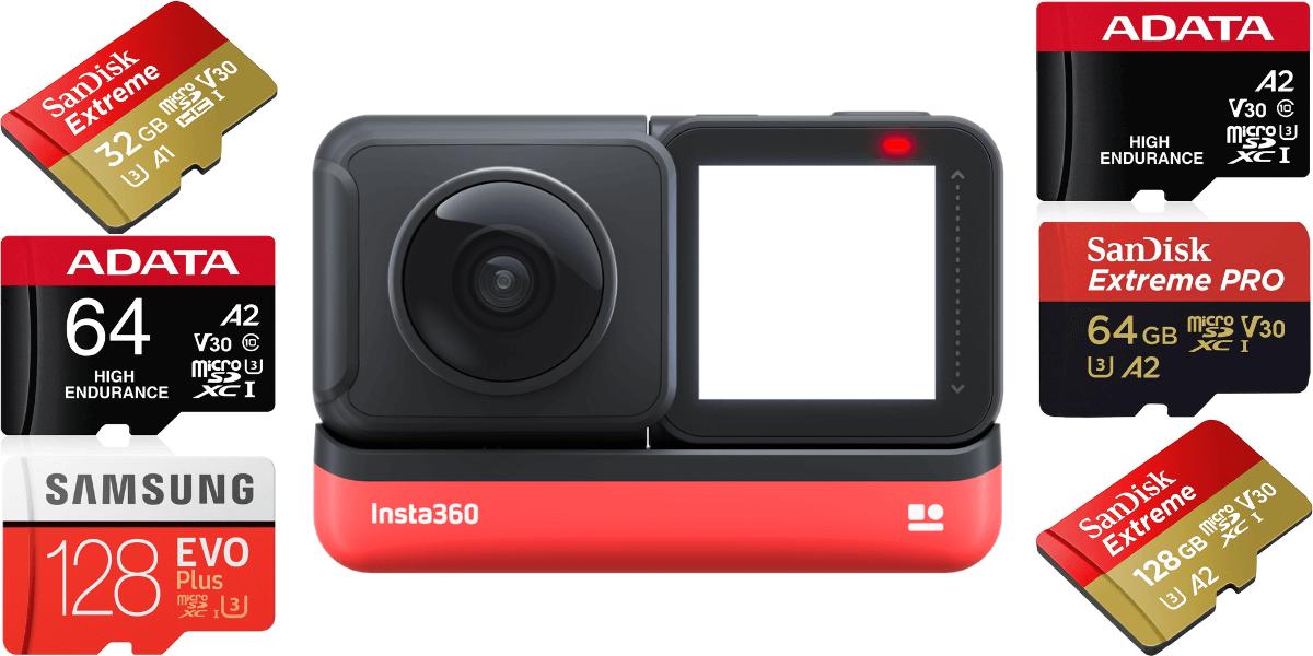 失敗しない!Insta360「ONE R」のmicroSDカードの選び方とおすすめを解説