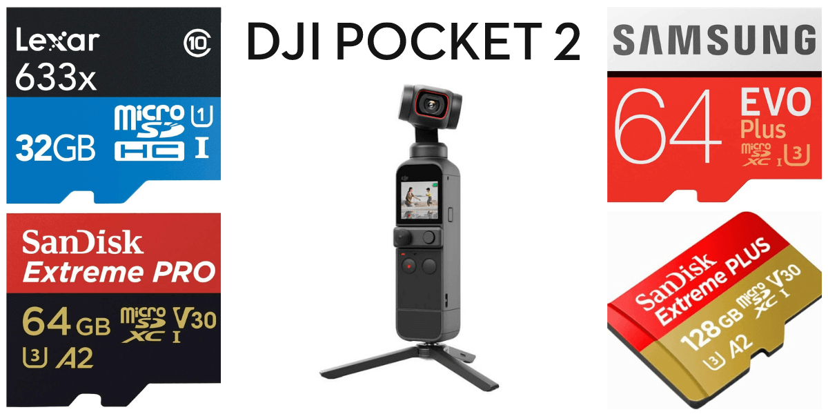 失敗しない!DJI Pocket 2のおすすめmicroSDカードと選び方を解説