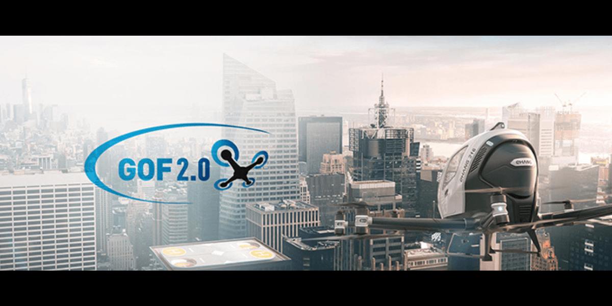 中国のエアモビリティ会社EHang、EUのGOF2.0プロジェクトに参加