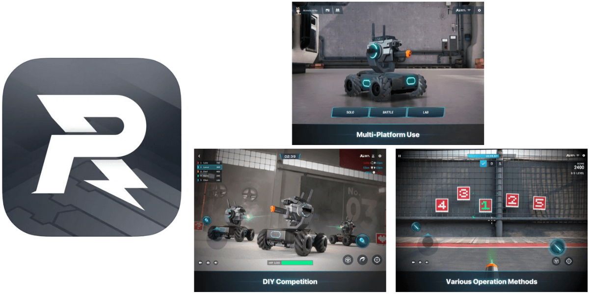 DJI「RoboMaster」アプリ アップデートのお知らせ(iOS:v1.1.6)