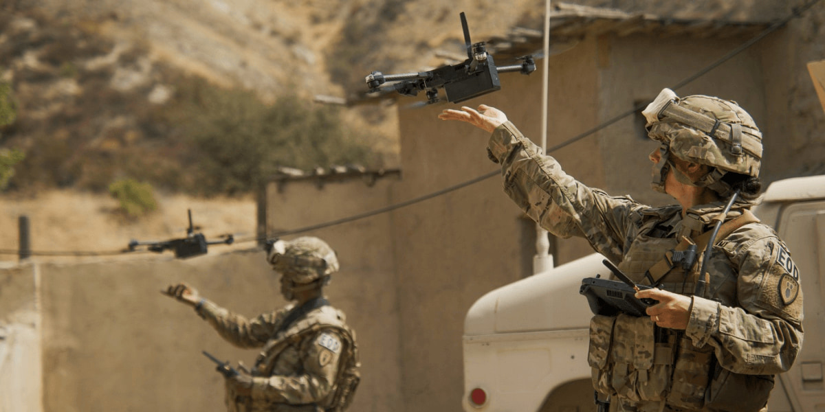 ドローン「Skydio X2D」アメリカ軍の短距離偵察用ドローンの最終選考に選出