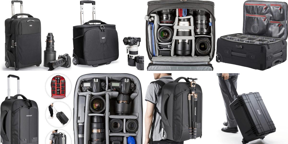 【キャリー系】カメラバッグのおすすめ5選!おしゃれで人気なブランドも