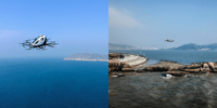 EHang-216、中国南部の海上での初フライト成功 新たな観光モデル構築に意欲