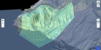 潜在的な岩盤崩壊を調査するためドローンを使用 – スイス連邦鉄道