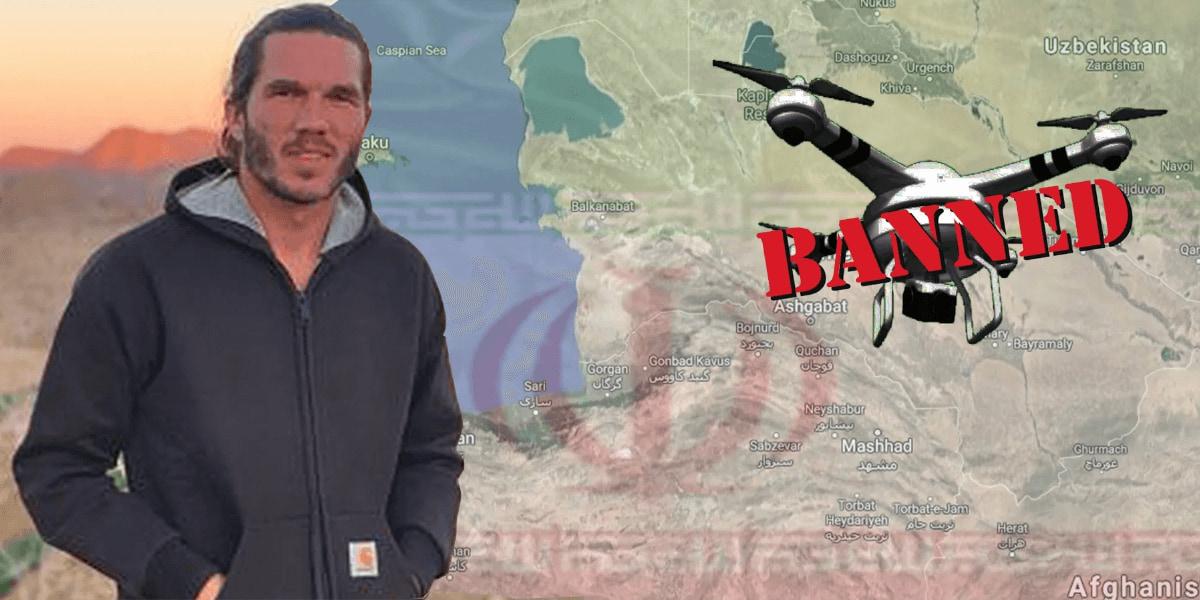 イランでドローンを飛ばしたフランス人観光客がスパイ容疑で逮捕