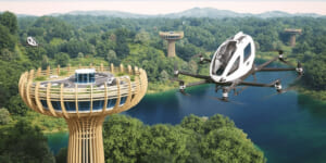EHangとGZDGが提携、イタリアで環境に優しい空飛ぶクルマの運用予定