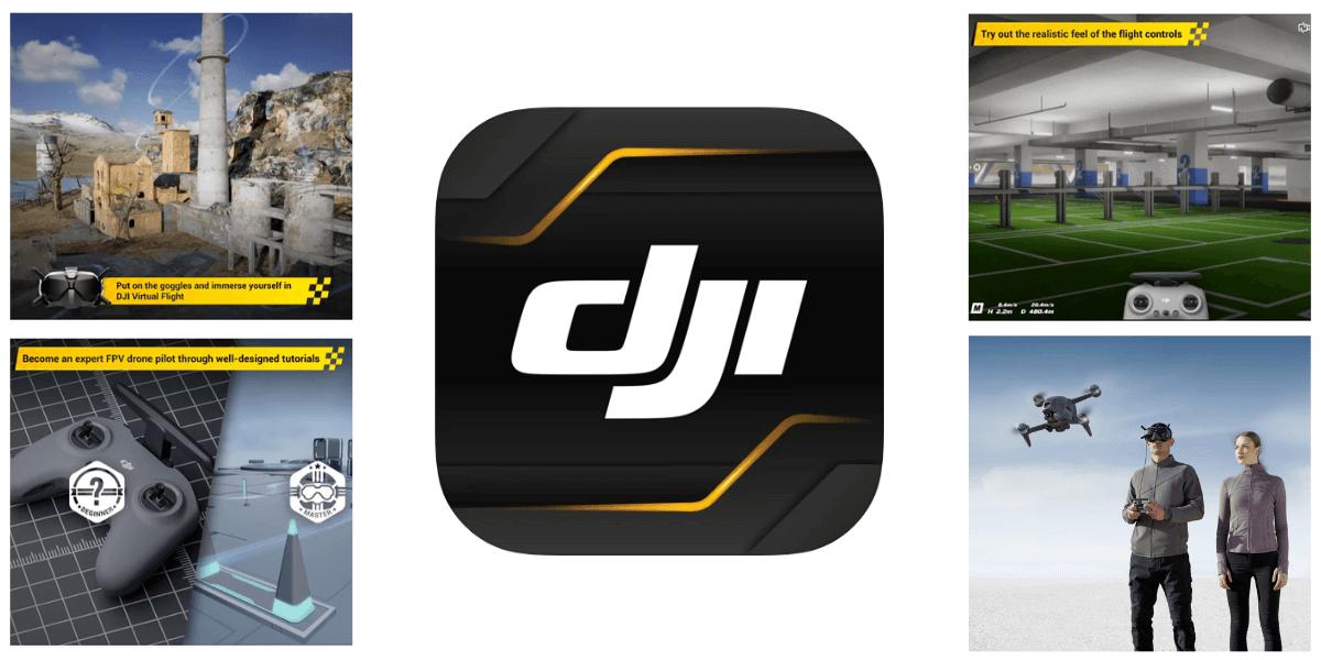「DJI Virtual Flight」アプリ アップデートのお知らせ(iOS:v1.1.0)