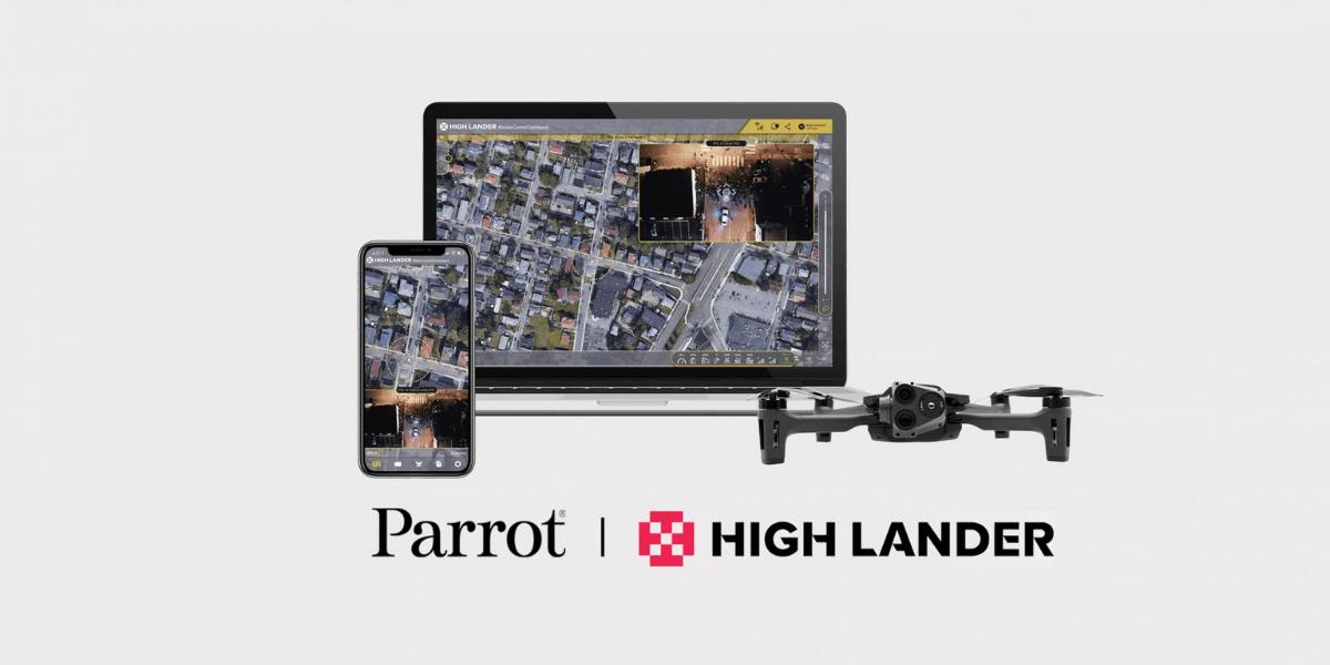 ドローンメーカーParrot、High Landerと提携発表!自動飛行の強化