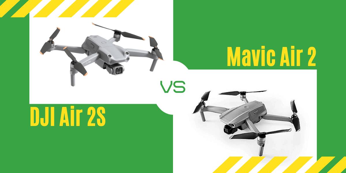 【徹底比較】「DJI Air 2S」VS「Mavic Air 2」オススメのドローンはどっち?