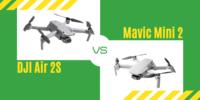 【徹底比較】「DJI Air 2S」VS「DJI Mini 2」初心者にオススメのドローンは?
