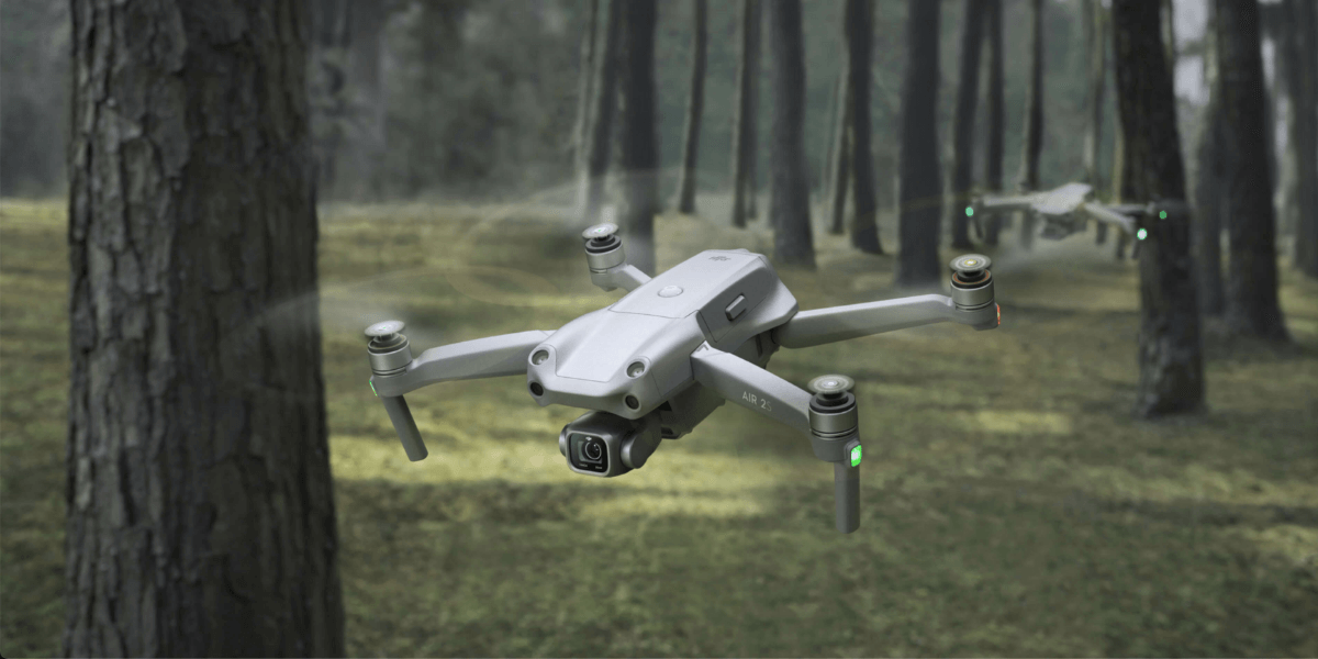 新ドローン「DJI Air 2S」発売!31分飛行、2000万画素 5.4K(30fps)撮影可能