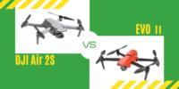【徹底比較】新ドローン「DJI Air 2S」 VS Autel「EVO 2」おすすめは?