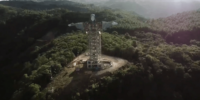 ブラジル南部にて、ドローンが建設中のブラジル最大となるキリスト像を撮影