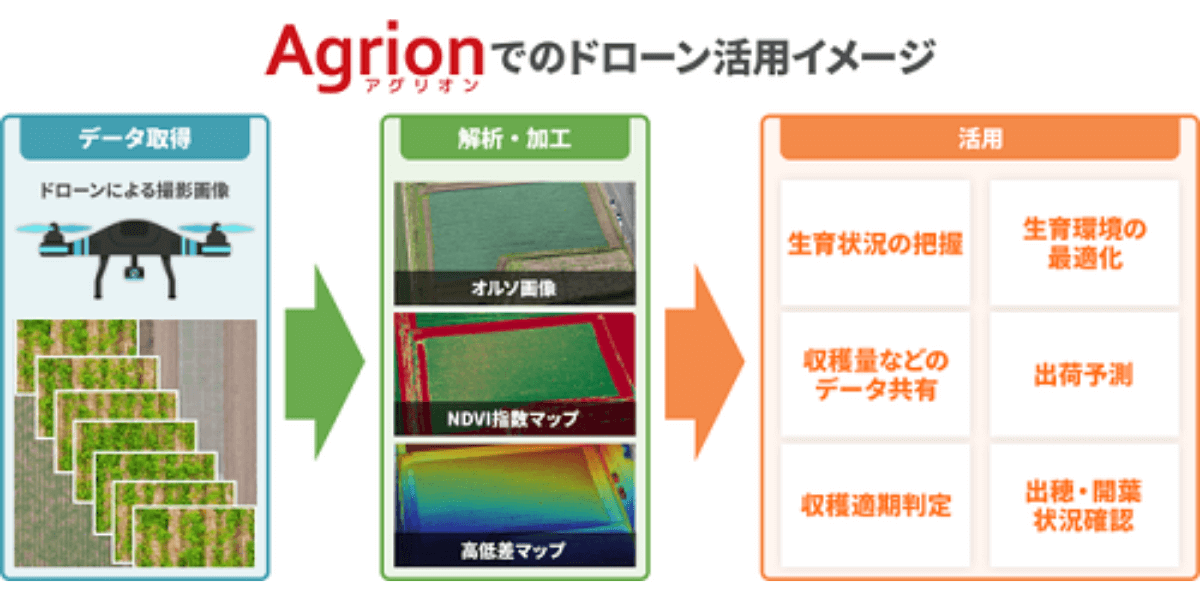 農業アプリAgrion利用農家と協力、ドローンサービス研究開発 – ライブリッツ