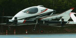 EHangが新たな2人乗りエアタクシー「VT-30」を発表