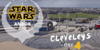 「Star Wars:Andor」の映画セットを撮影したドローン映像が公開