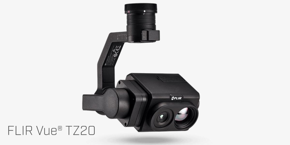 新たなドローン向けデュアル赤外線ズームカメラ「FLIR Vue TZ20」販売開始