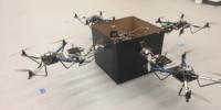 ジョージア工科大学にて、複数の小型ドローンで荷物を配達する研究が進む