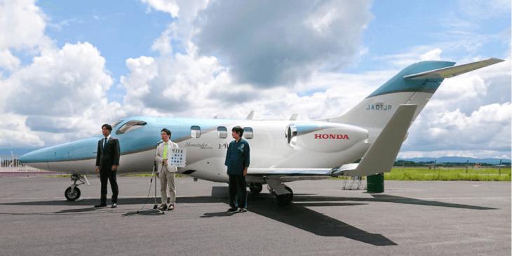 ホンダジェットでバイオジェット燃料「サステオ」を初使用