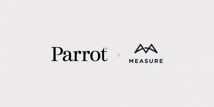 仏ドローンメーカーParrot、Measureと提携を発表
