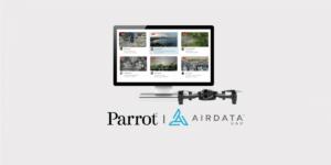 仏ドローンメーカーParrot、AirData UAVと提携発表