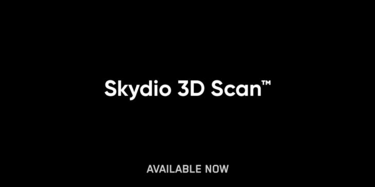 Skydio(スカイディオ)、新たな3Dスキャン ソフトウェアをリリース
