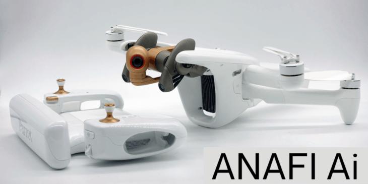 仏ドローンメーカーParrot、新ドローン「ANAFI AI」を発表