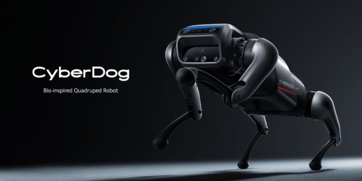 中国Xiaomi、犬型ロボット「CyberDog」発表 !価格は約17万円