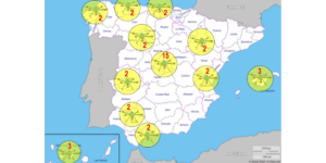 スペイン警察、夏の混雑した道路をドローンで監視 違反者の摘発