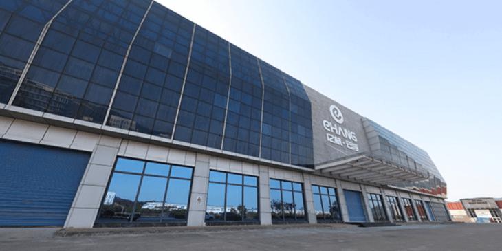 中EHang、雲浮市にある新たな工場の稼働中ビデオ公開