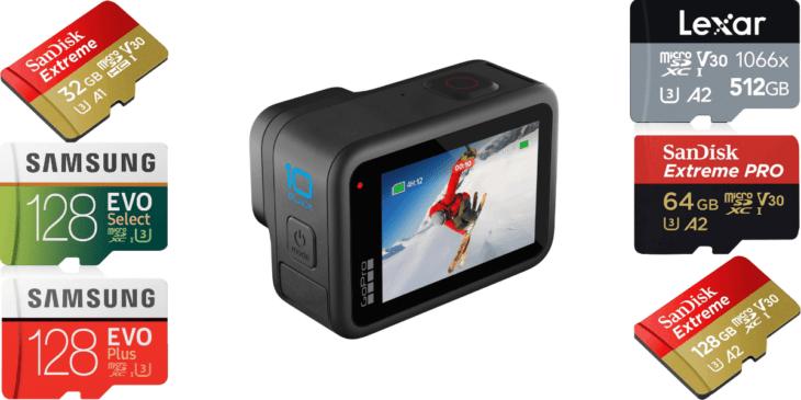 失敗しない!GoPro「Hero10 Black」のmicroSDカードの選び方とおすすめ解説