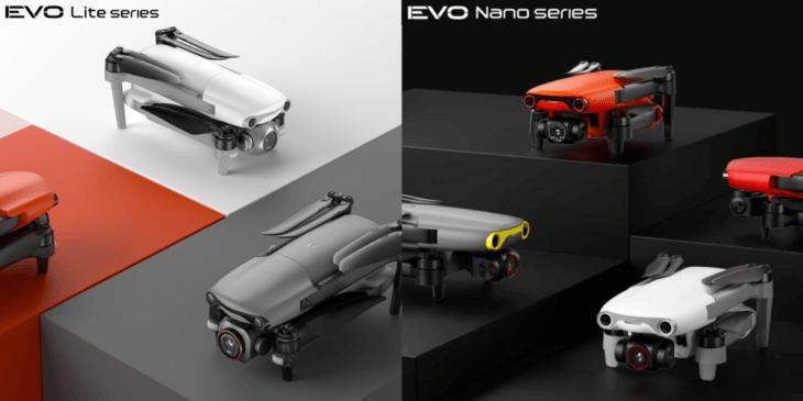 Autel Roboticsが新ドローン「EVO Liteシリーズ」「EVO Nanoシリーズ」発表