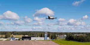 中EHang、エストニアでのエアタクシーと配達ドローンの飛行実験成功