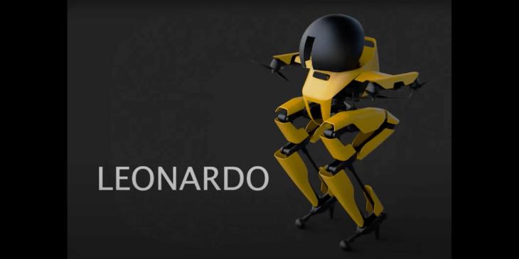 二足歩行で歩き、手のプロペラで飛行するロボット「Leonardo」公開- カリフォルニア工科大学