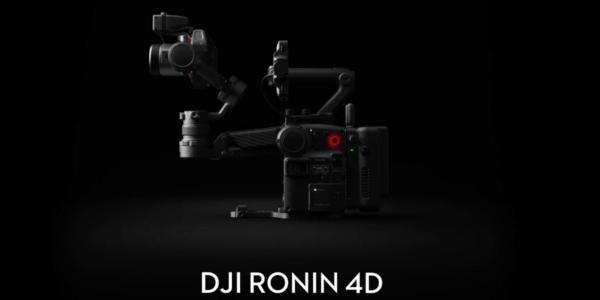 DJIが新製品「Ronin 4D」発表!デザイン性に優れたシネマカメラ