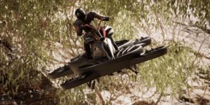 10/26 世界初実用型ホバーバイク「XTURISMO Limited Edition」を代官山 蔦屋書店にて展示